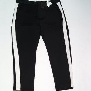 Zara Man Joggers Athletic Trouser Pants Snap Zip